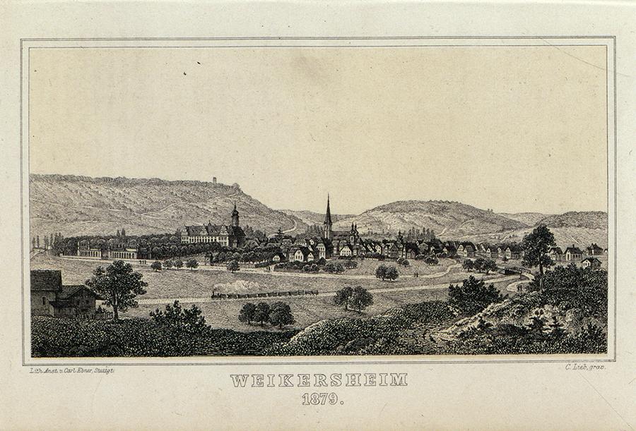 Bildergebnis für weikersheim historisch