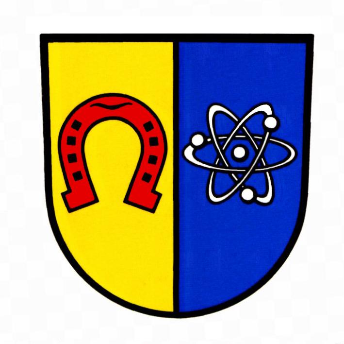 Wappen von Eggenstein-Leopoldshafen