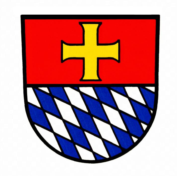 Wappen von Heiligkreuzsteinach