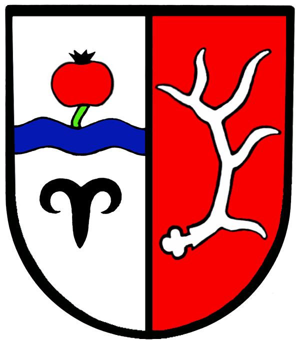 Wappen von Hirschberg an der Bergstraße